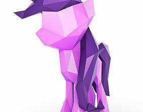 3D model Little Pony Low Poly