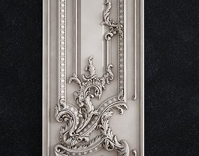 Door baroque 3D printable model