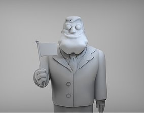3D print model American Dad