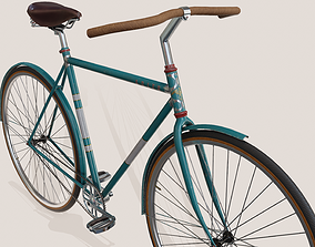 Bicycle Vintage - PBR Game Ready 3D model