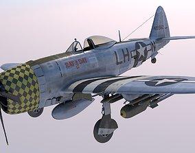 3D Republic P-47D Thuderbolt Rat a Dat