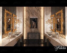 Bathroom bathroom modern 3D model