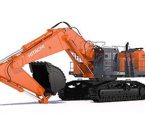 3D Excavator Hitachi EX1200-7