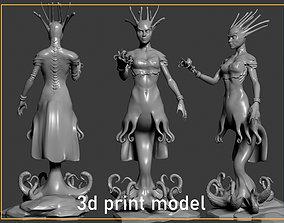 3D print model Mermaid woman