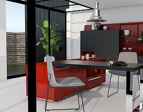 furniture Kitchen interior 3D model