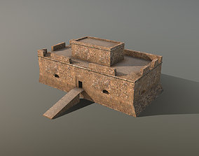 Building Pafos Fort 3D model