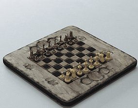 3D model Old Chess