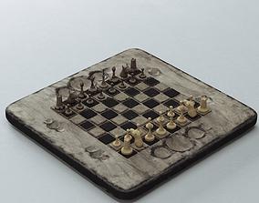 3D model Old Chess