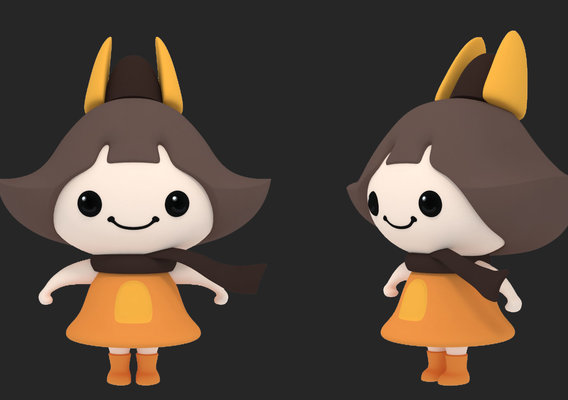 Character Modeling Project