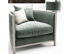 3D Sophia armchair The sofa and chair company