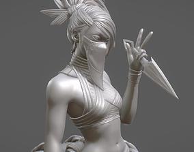 3D print model Akali League of Legends