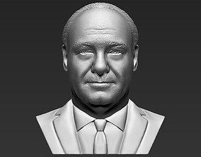 Tony Soprano bust printing ready stl 3D printable model 2