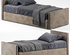 Single Modern Bed 3D model