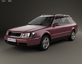 Audi A6 C4 avant 1994 3D