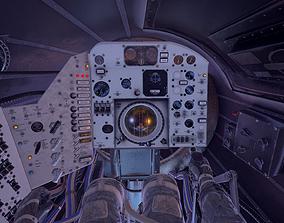3D asset Mercury Redstone Cockpit