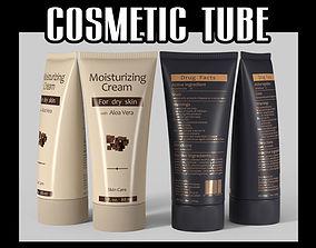 Cosmetic tube 02 sanitary 3D model