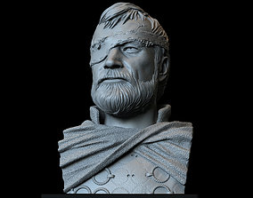 Beric Dondarrion from Game of thrones 3D printable model