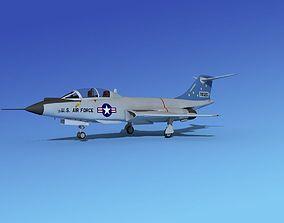 3D model McDonnell F-101B Voodoo V02