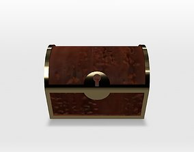 Treasure chest 3D asset animated realtime
