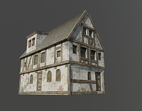Medieval Building 01 - Game Ready 3D model