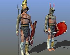 3D Roman Gladiators