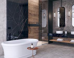 Bathroom scene FLAVIKER CATALOG 3D model