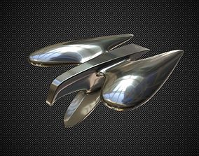 3D model Chrysler Mopar Eagle Hood Ornament