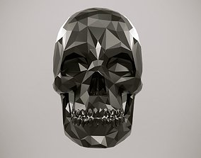 3D Low Poly Skull