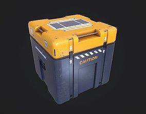 Sci-Fi Storage Loot Crate 07 3D asset