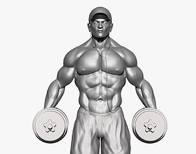 Body Builder 3D model