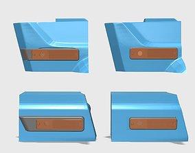 MFAB Cherokee Chief Body lights kit Front 3D print model 1