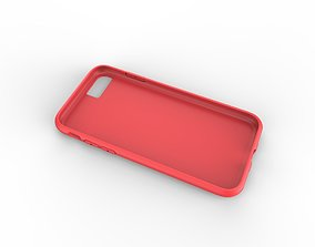 3D print model iphone 8 red case Original customizable