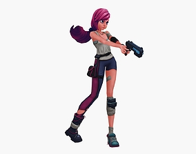 Crazy Girl 3D model