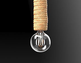 3D model Dutchbone Tan Pendant Lamp