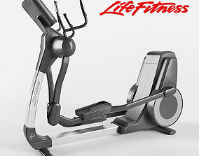 3D model Elliptical Cross-Trainer Life-Fitness
