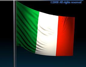 Flag Italy 3D model