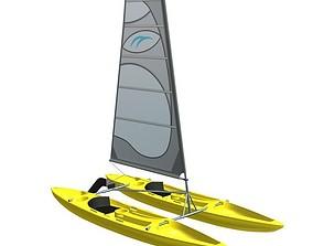Boat V1 3D print model