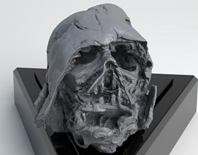 Melted Darth Vader Helmet - Star Wars Skull 3D Print 1