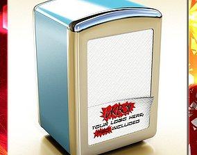 Napkin Dispenser 1 3D