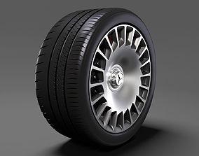 Mercedes Benz Maybach 2017 wheel 3D