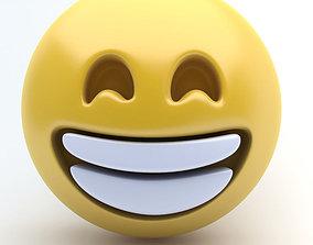 3D model EMOJI VERY HAPPY