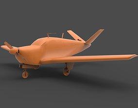 3D printable model Beechcraft Bonanza