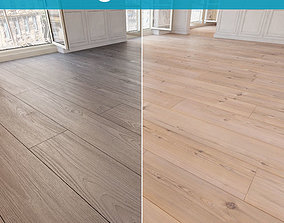 Wooden floor 18 WITHOUT PLUGINS 3D