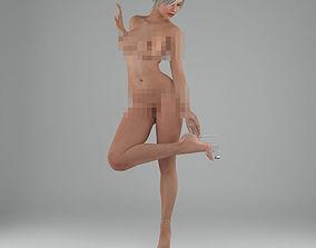 3D sexy girl human