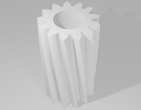 3D printable model Helical Gear