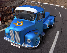 Scania Vabis L36 Truck 3D