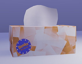 3D asset realtime Tissue Box