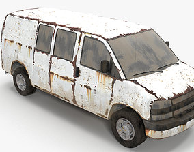 3D transport Rusty van