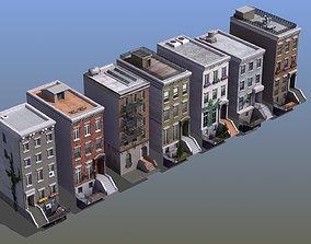 3D Row Houses 7