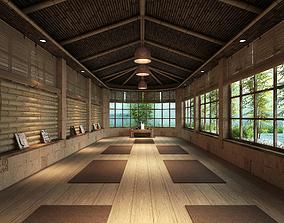 3D model Yoga house